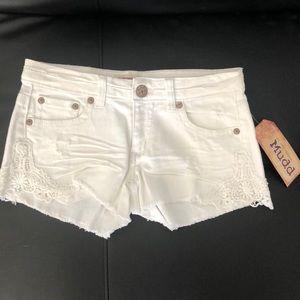 Mudd shortie shorts size 5 NWT